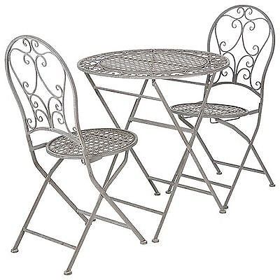 OKA Rivoli bistro garden table and chairs set - BRAND NEW
