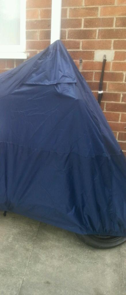 Motorcycle cover heavy duty.
