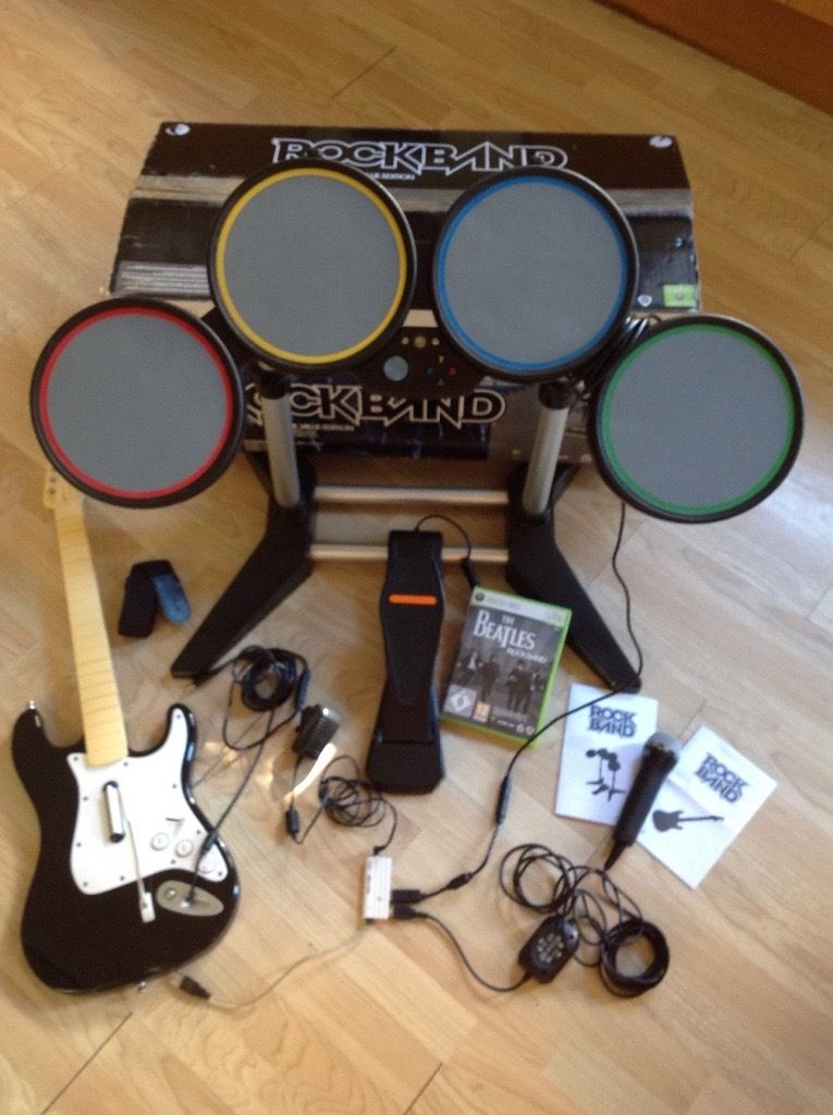 The Beatles Rockband Value Edition Xbox 360