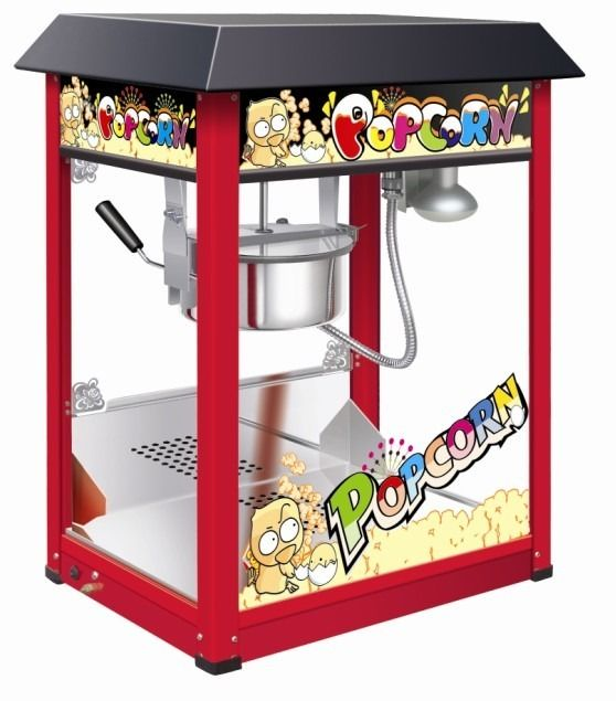 8oz / 8 Ounce Popcorn Machine | Brand New TAN-1608
