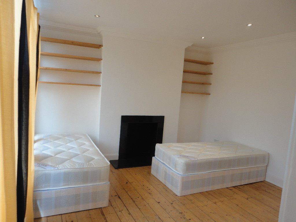 M. TWIN rooms+1 Single room SAME FLAT!!FREE BILLS plus living and garden