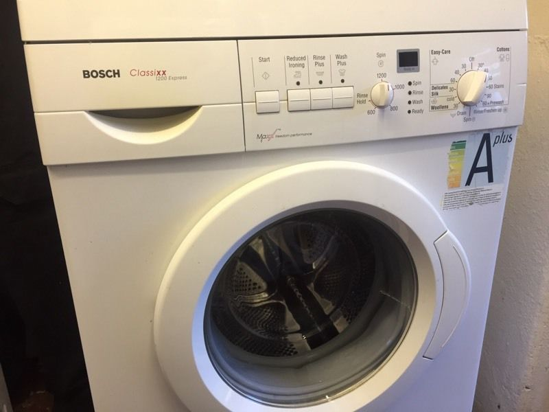 Bosch Classixx washing machine can deliver