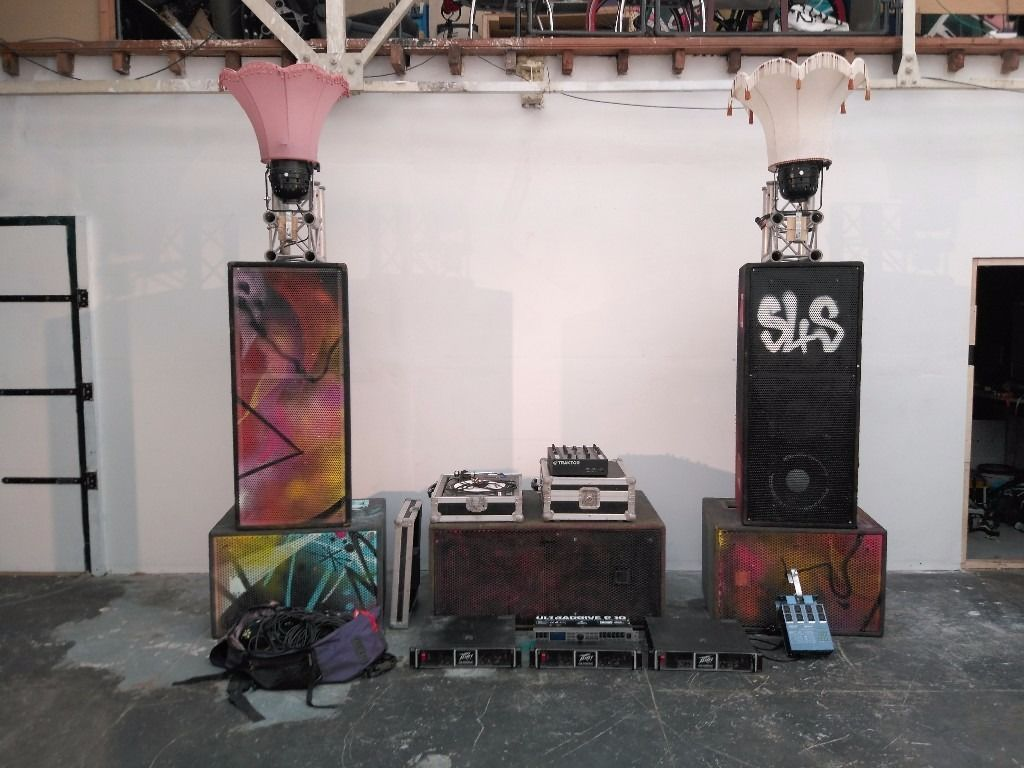 Soundsystem and DJ Party Hire
