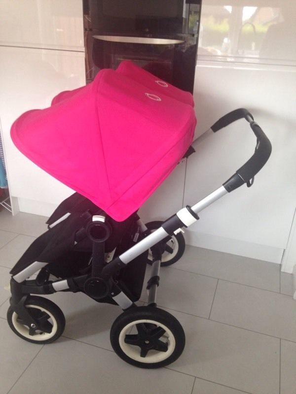 Bugaboo donkey pram and pushchair with car seats
