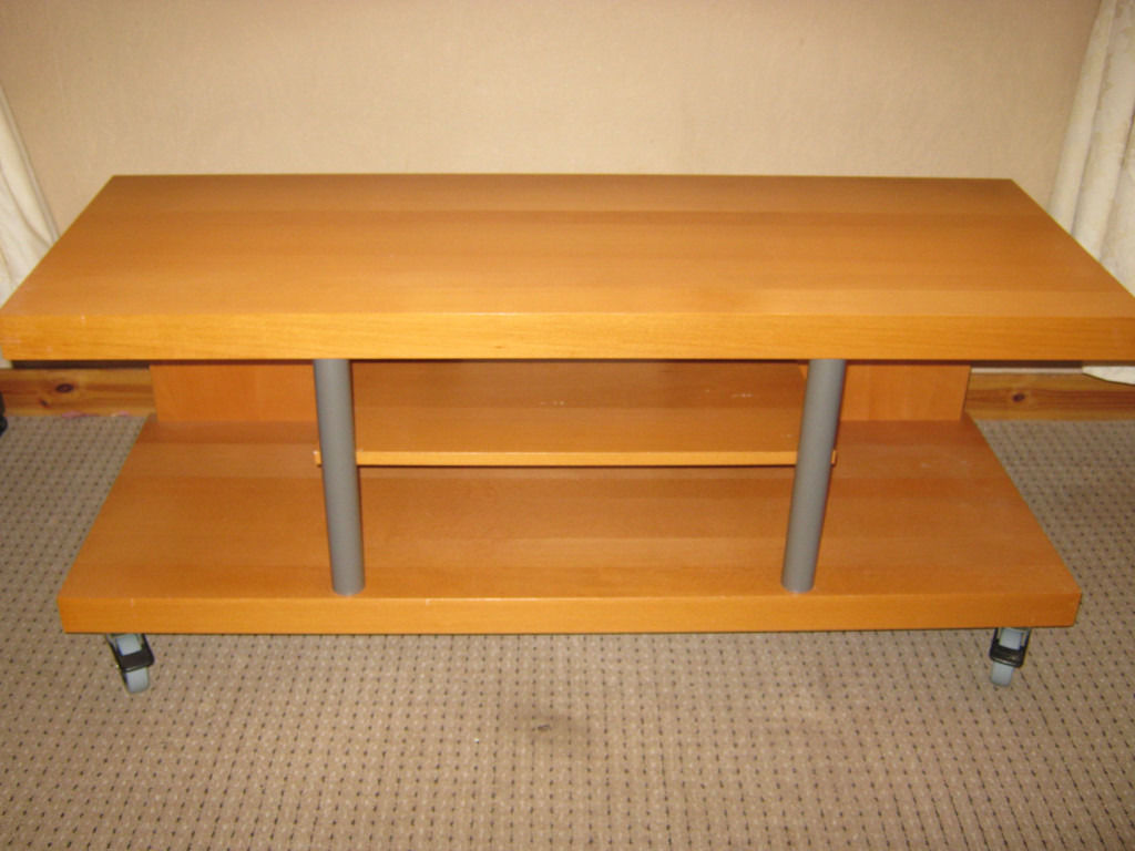 IKEA TIMRA TV Stand / Trolley / Table (Birch)