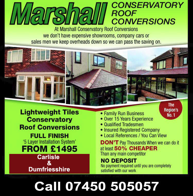 50% Cheaper Conservatory Roof Conversions