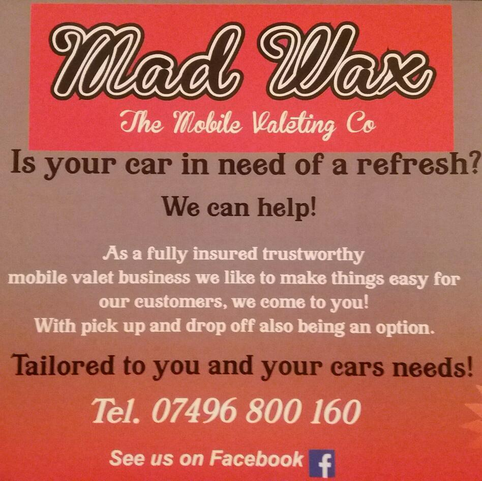 Mad Wax Mobile Valeting Co. Fife