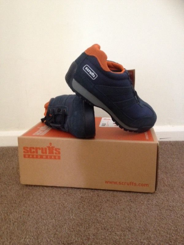 Scruffs Safety Blue Size 9 Steel Toe Safety Trainers