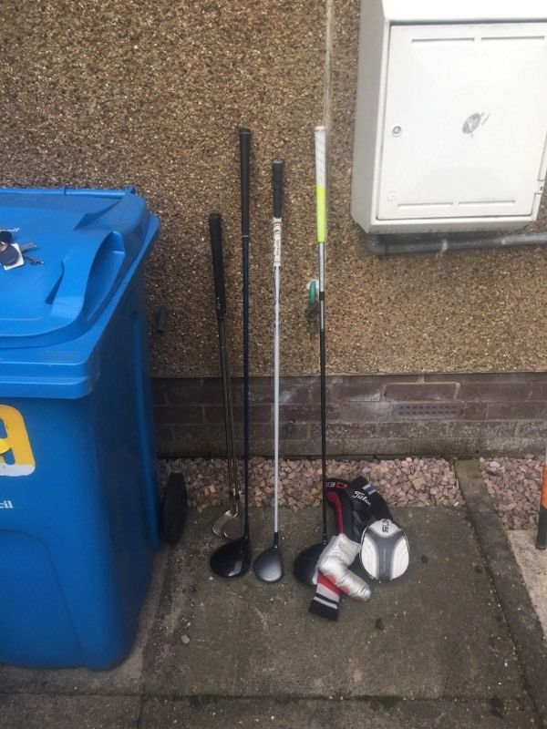 Multiple golf items for sale