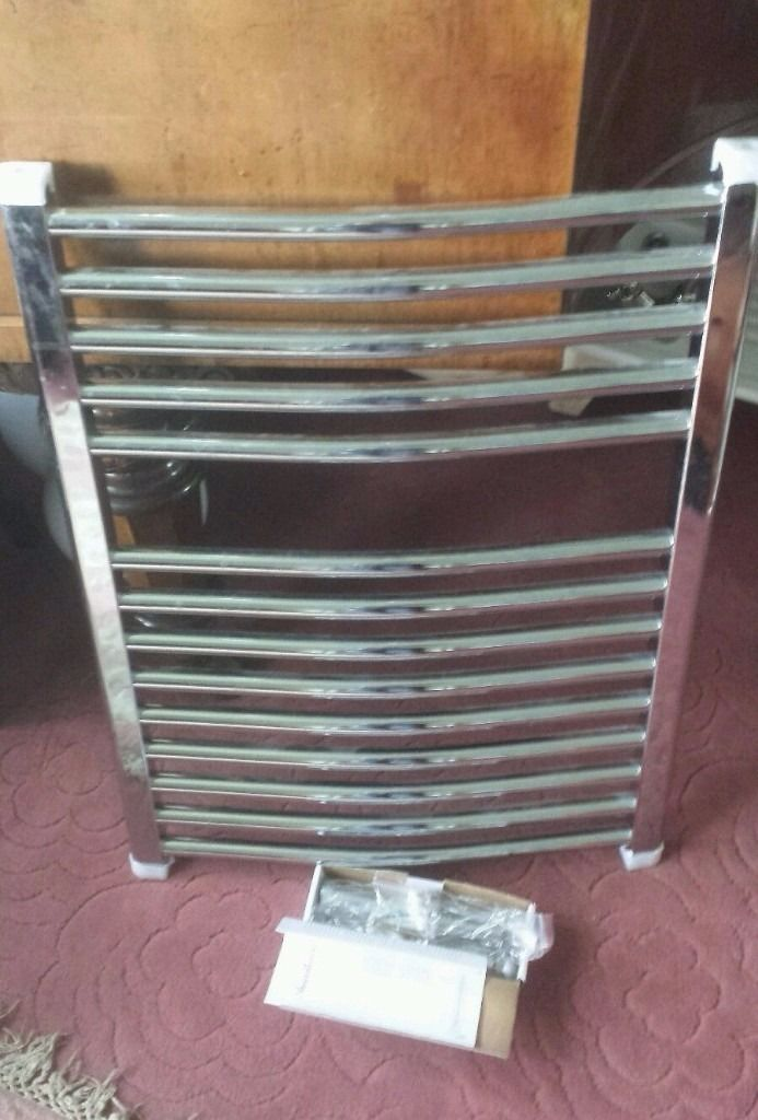 BRAND NEW towel rail with fixings