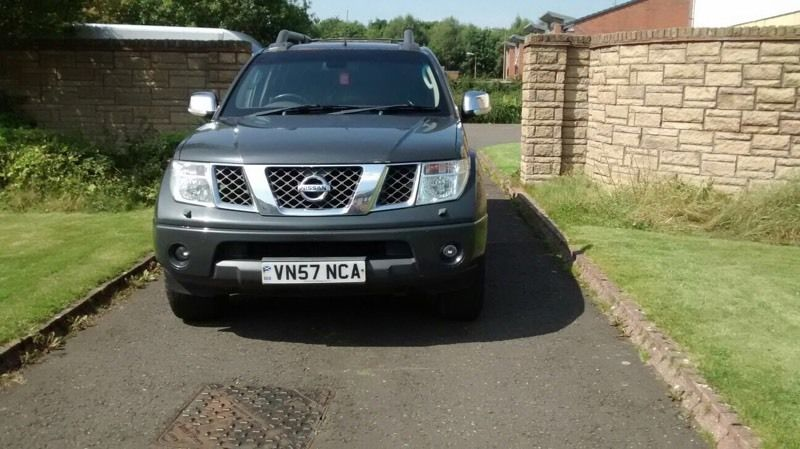 Nissan navara outlaw 2.5dci 6 speed double cab no vat!! 57reg 2007 registered