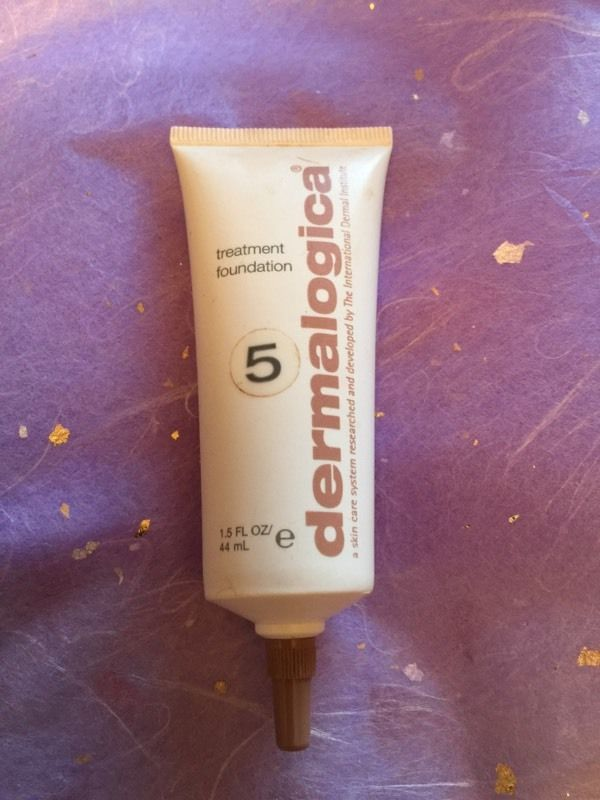 DERMALOGICA NUMBER 5 dark treatment foundation new no box 44ml