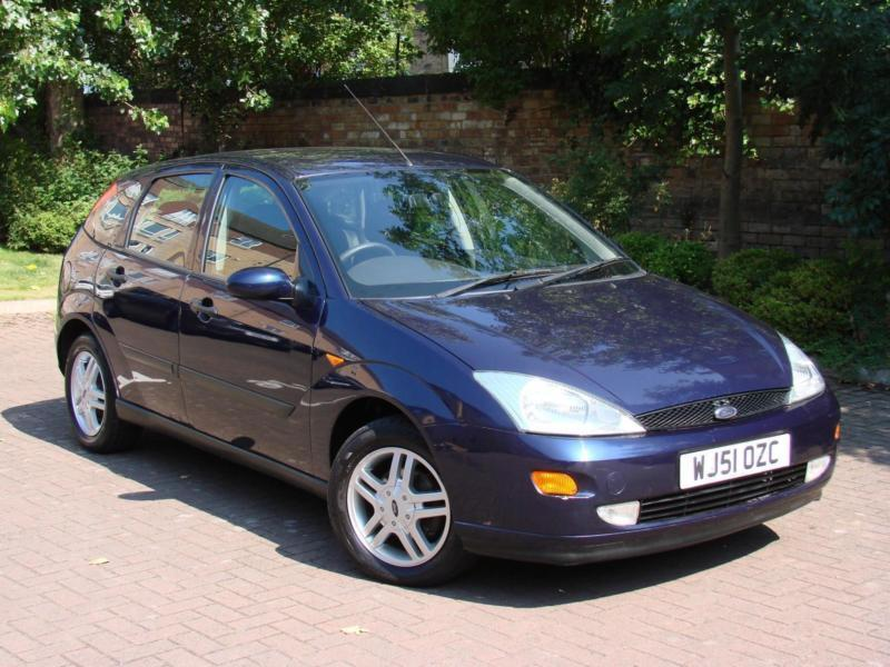 TRADE IN TO CLEARER!!! 2001 FORD FOCUS 1.6 ZETEC 5 DRS, LONG MOT
