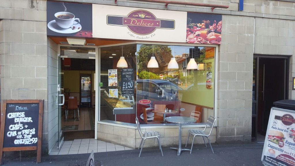 Cafe Sandwich bar for sale with great business opportunity