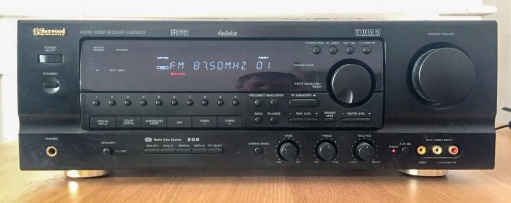 Sherwood Newcastle R-325RDS Audio Amp / Receiver (Dolby digital amplifier) 60 watt