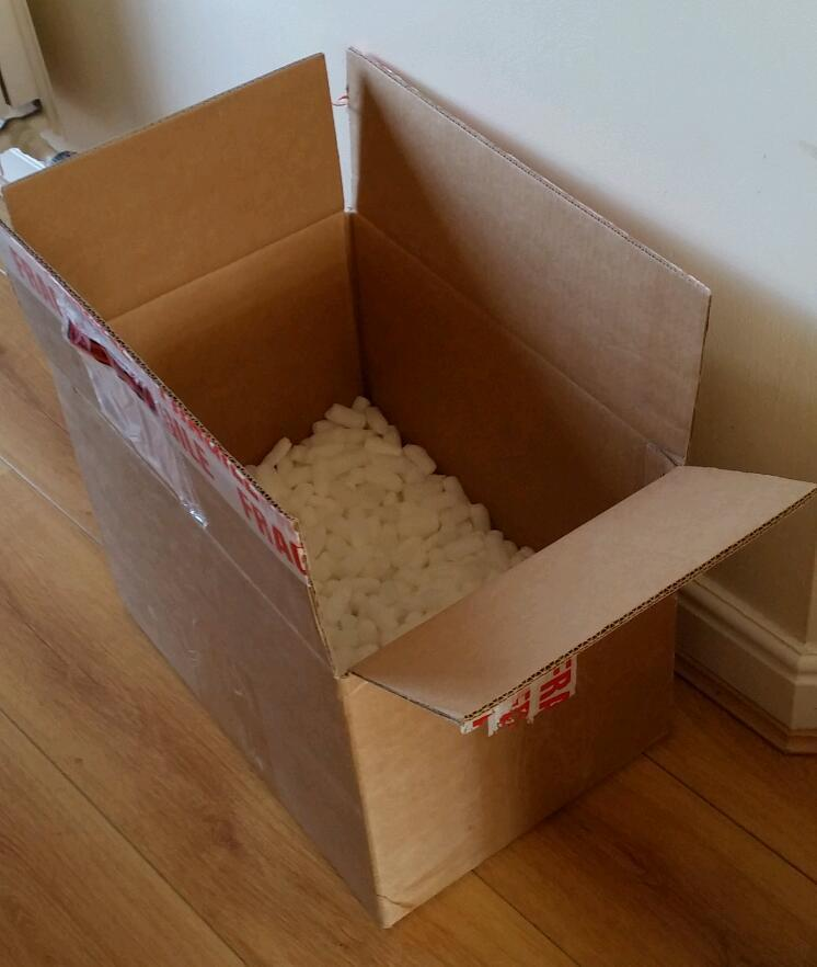 2x excellent condition strong boxes with packing