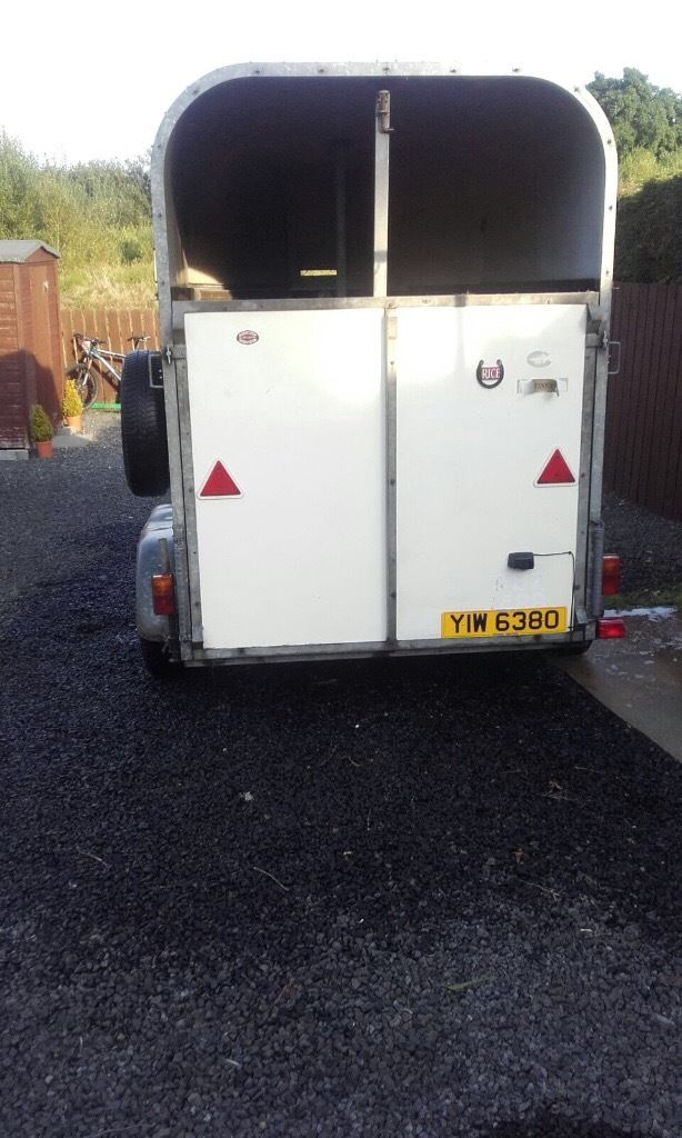 Rice horse box for sale