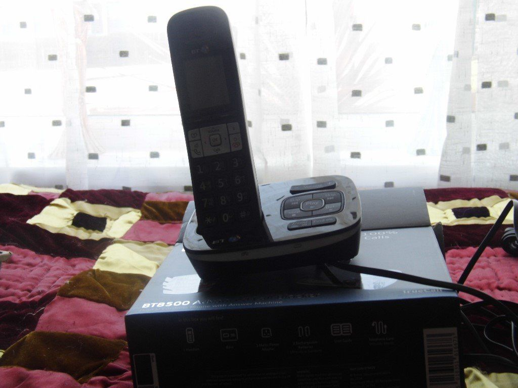 Digital Cordless with Answering machine - BT 8500