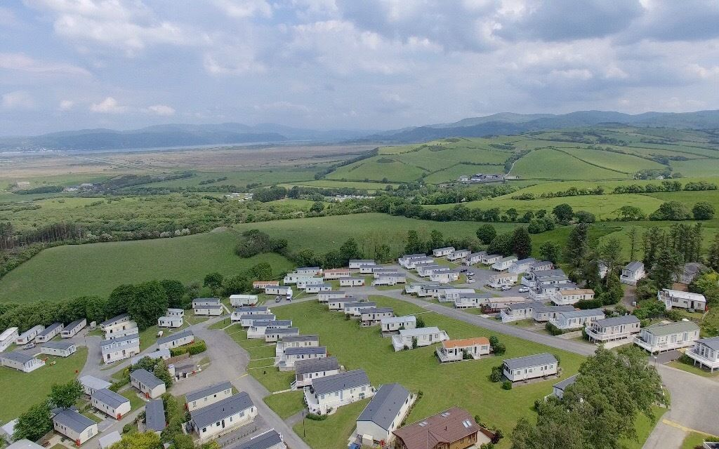 pay no site fees until 2018 on this stunning new caravan in Borth in mid-Wales,