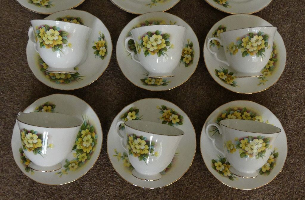 Vintage China Gainsborough Tea Set