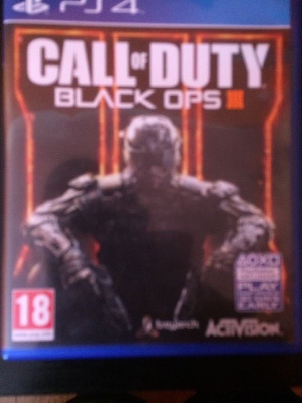 PlayStation 4 Call of Duty Black Ops III