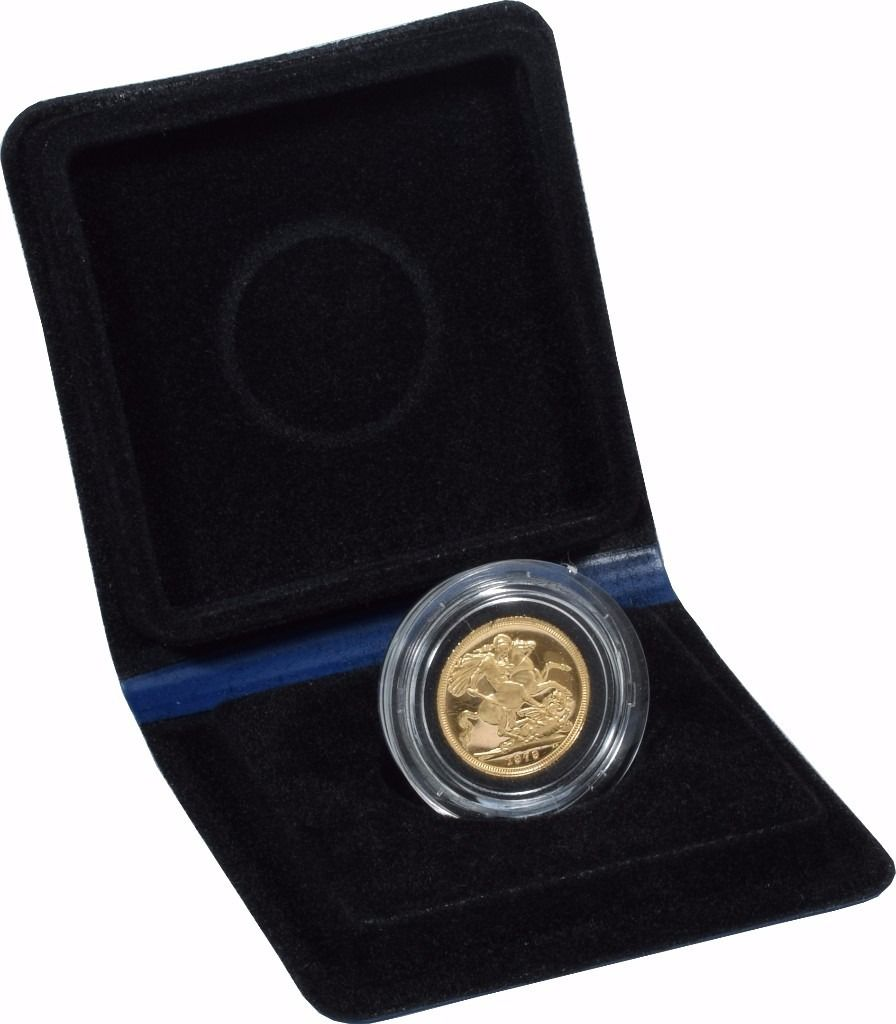 Gold Proof 1979 Sovereign Boxed 22ct gold never been touched by hand