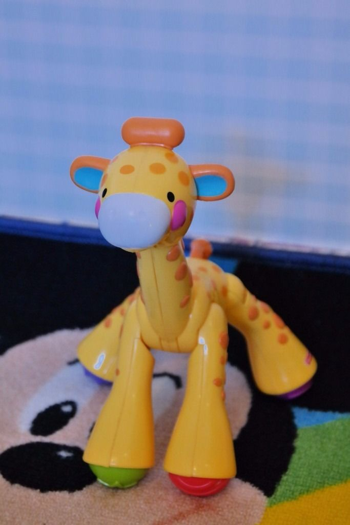 Poseable Toy Giraffe.
