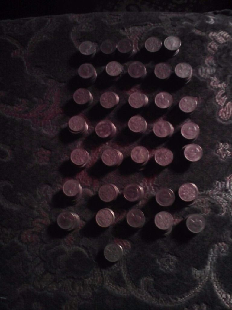 357 SIXPENCES(tanners)NO RARE ONES INCLUDED.