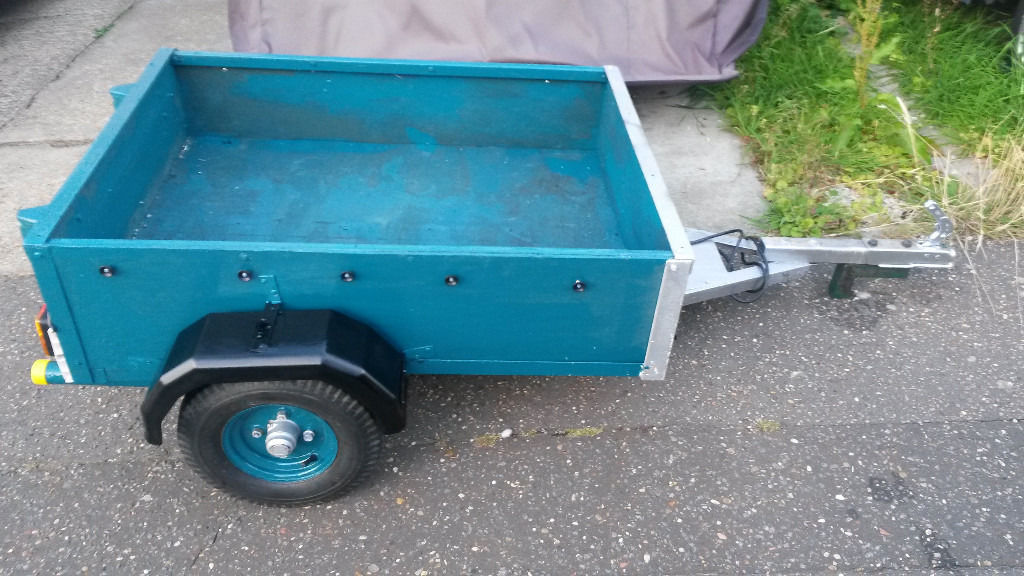 4x3x1 trailer, unbraked