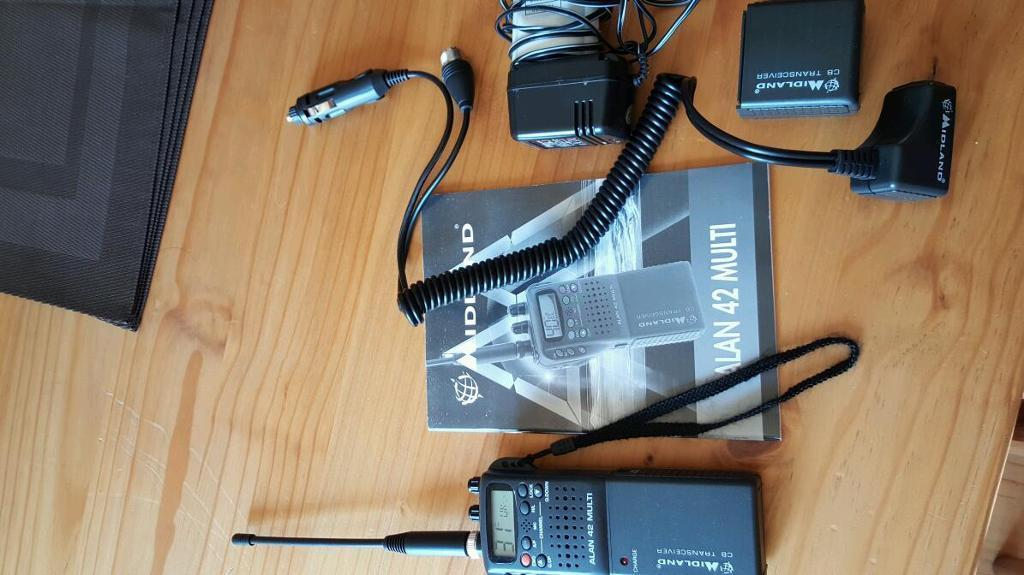 Midland 42 multi Hand held transceiver.
