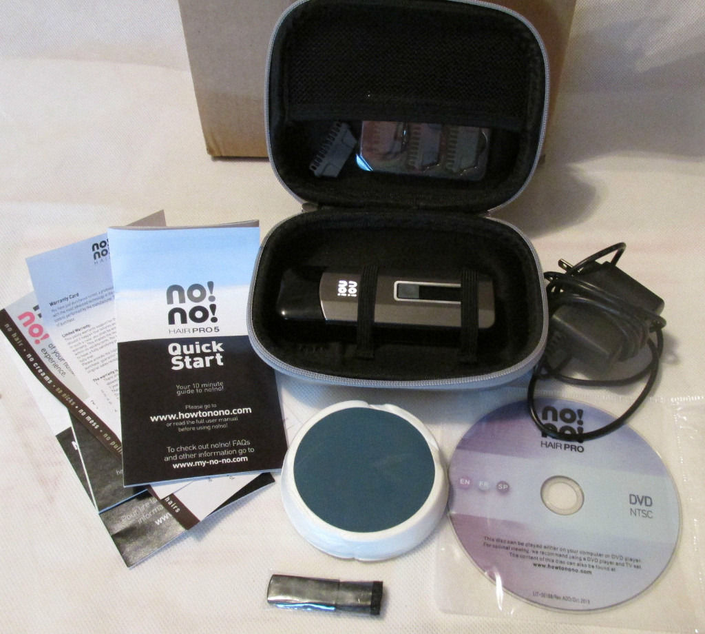 nono pro 5 hair removal unused - unwanted present