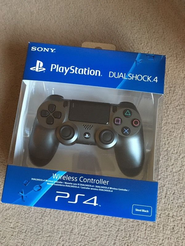 Sony Dualshock 4 Steel Grey