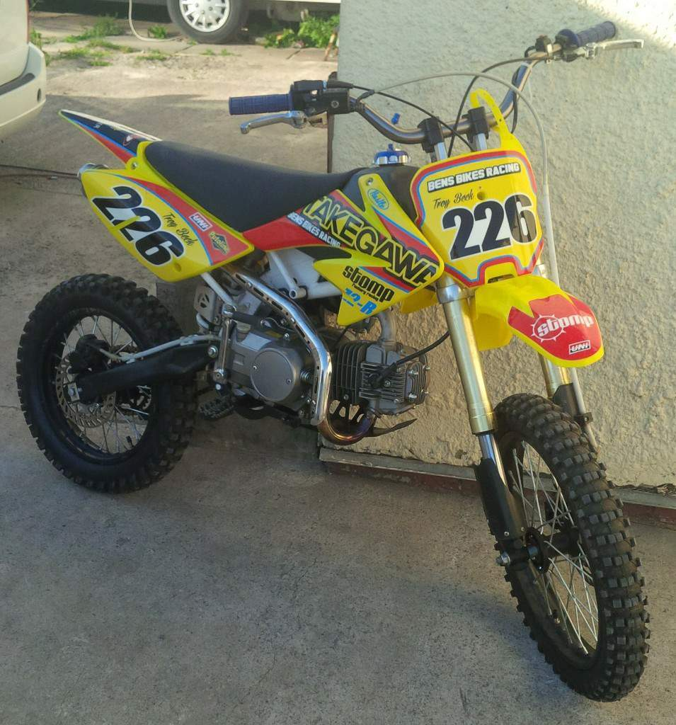 125cc Stomp pit bike for sale