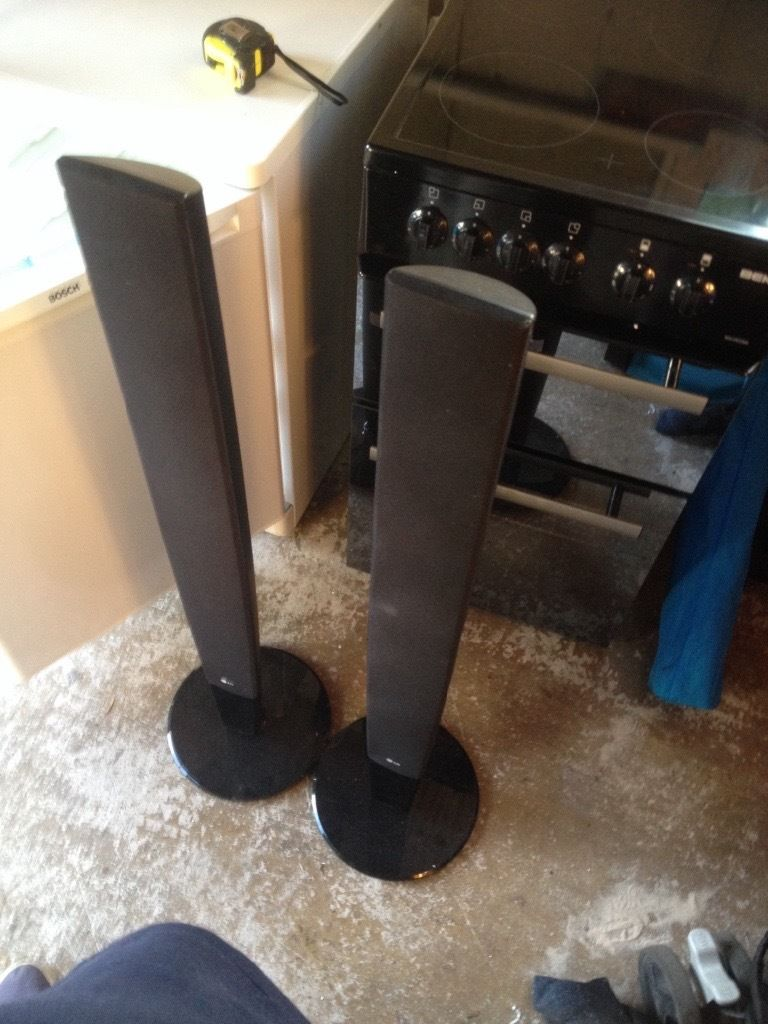 Lg surround sound speakers X2