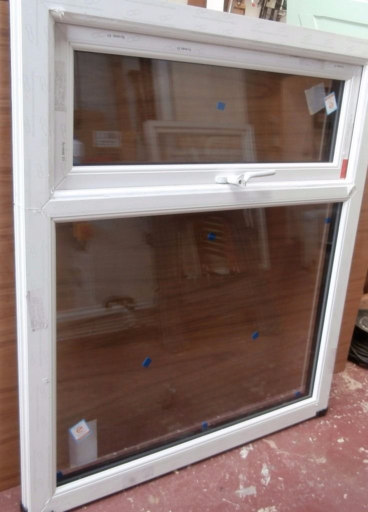 Brand New UPVC Window, Black on White with A Rated Glass
