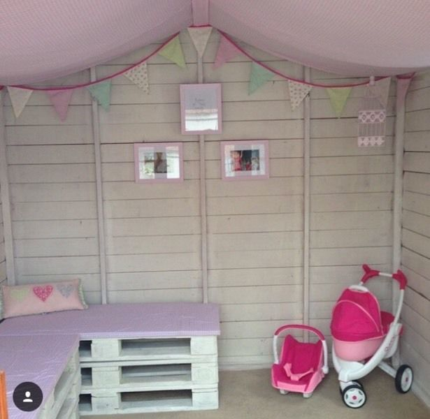 Summerhouse summerhouse playhouse play house 8x8ft shed