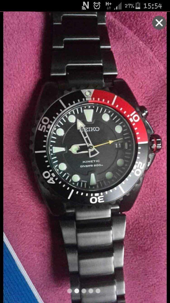 Seiko Special Edition Kinetic Divers Watch SKA577P1