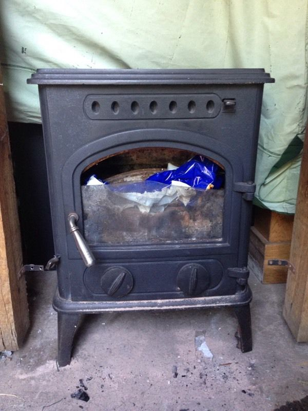 Firewarm multi fuel 8kw woodburner