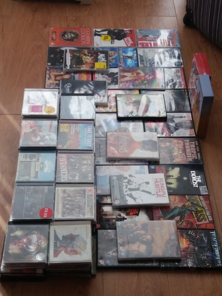 dvds and cds for sale