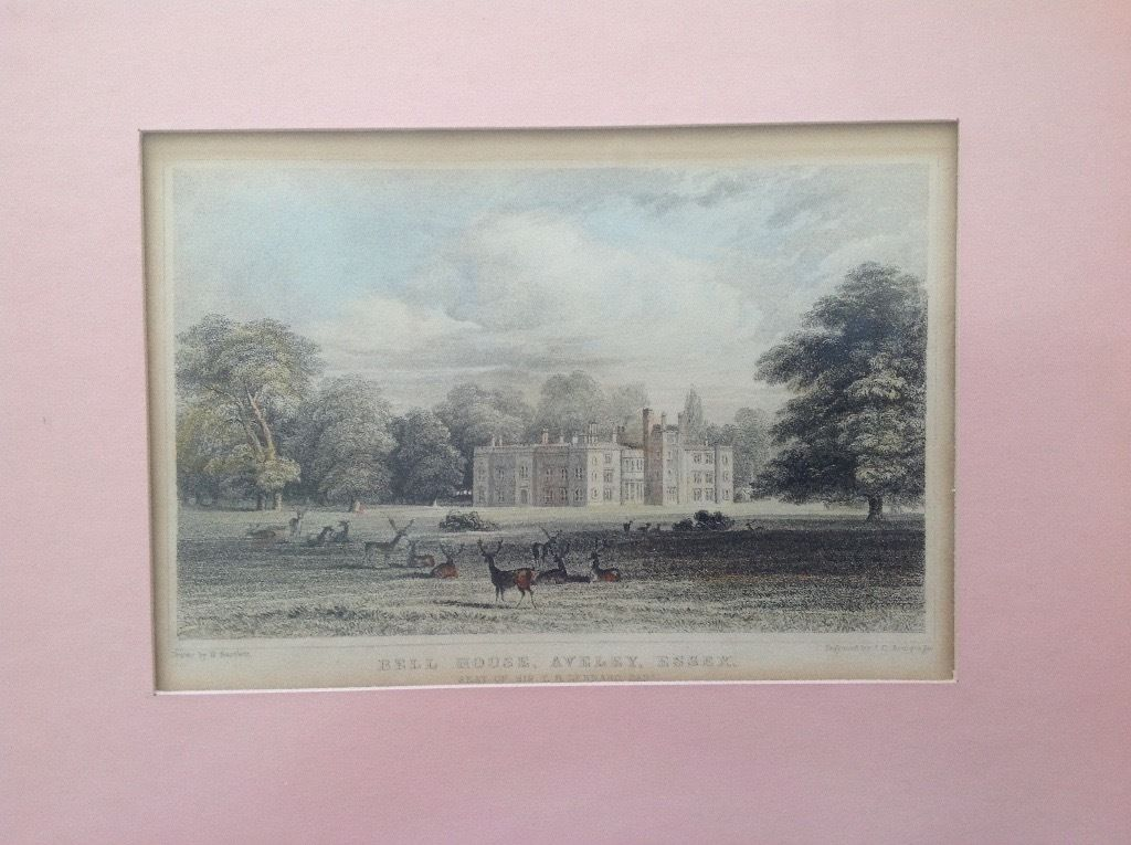 Print of Bell House Aveley Esse