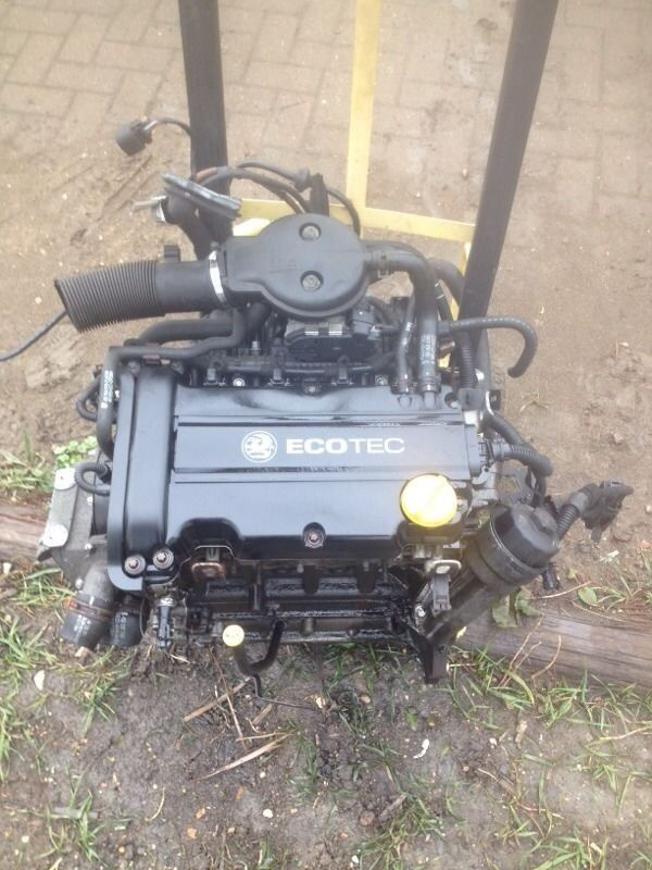 Corsa c 2004 1.2 z12xe complete engine only 60k good strong engine 07594145438