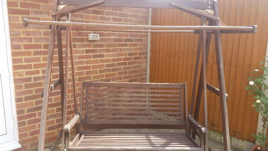 Wooden Frame for a swing no cover