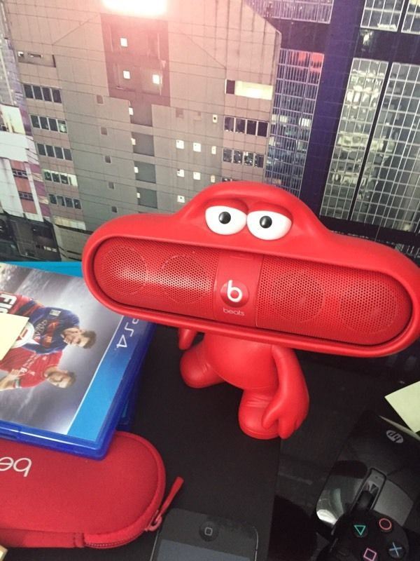 Red Beats Pill