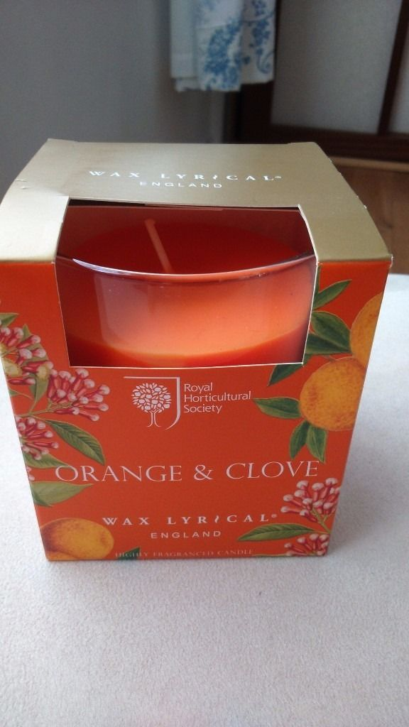 RHS - Orange and clove candle