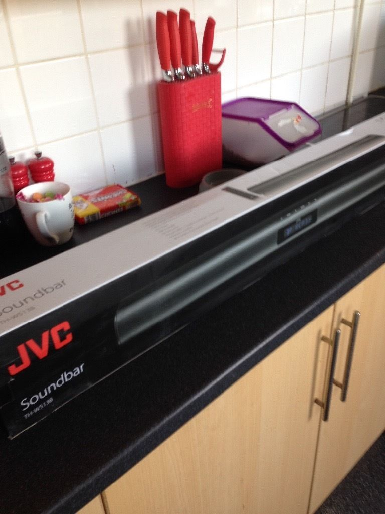 BRAND NEW - JVC soundbar with bluetooth