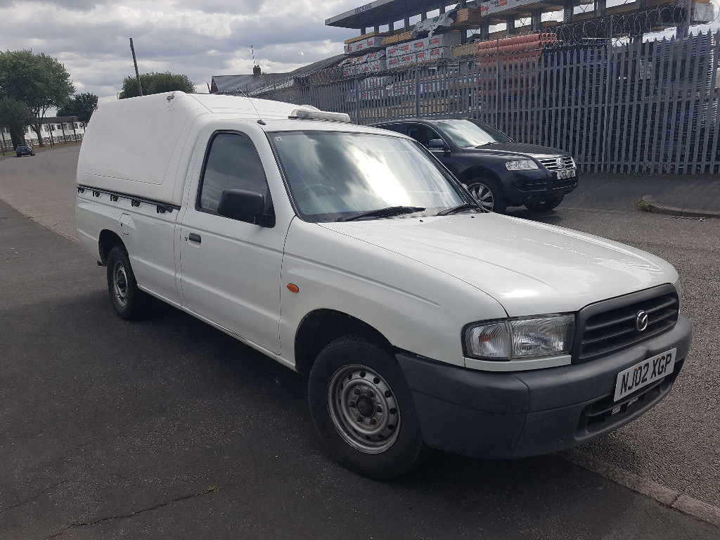 MAZDA 2.5 TURBO DIESEL PICKUP TRUCK WITH TRUCKMAN TOP GOOD CLEAN CONDITION NEEDS MINOR ATTENTION
