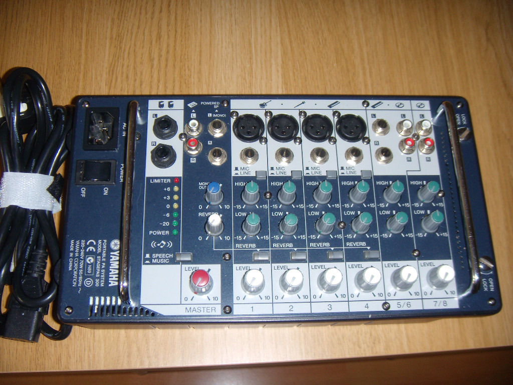 FOR SALE MIXER AMPLIFIER YAMAHA 2X150W VERY GOOD CONDITION