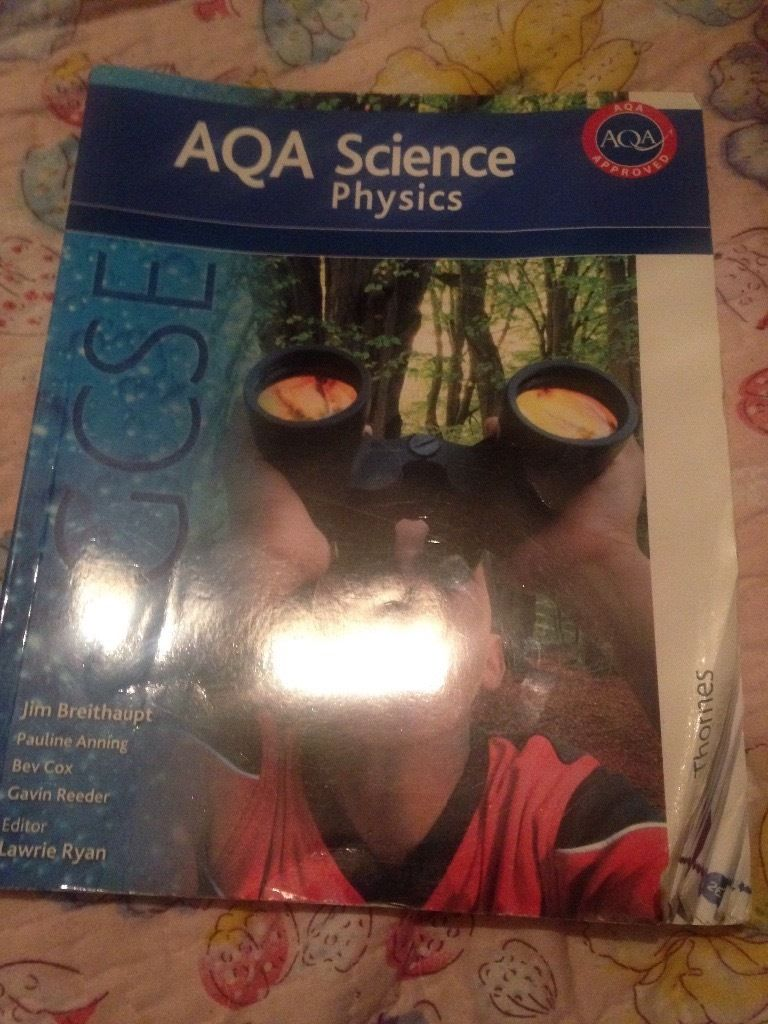 Aqa science physics book GCSE