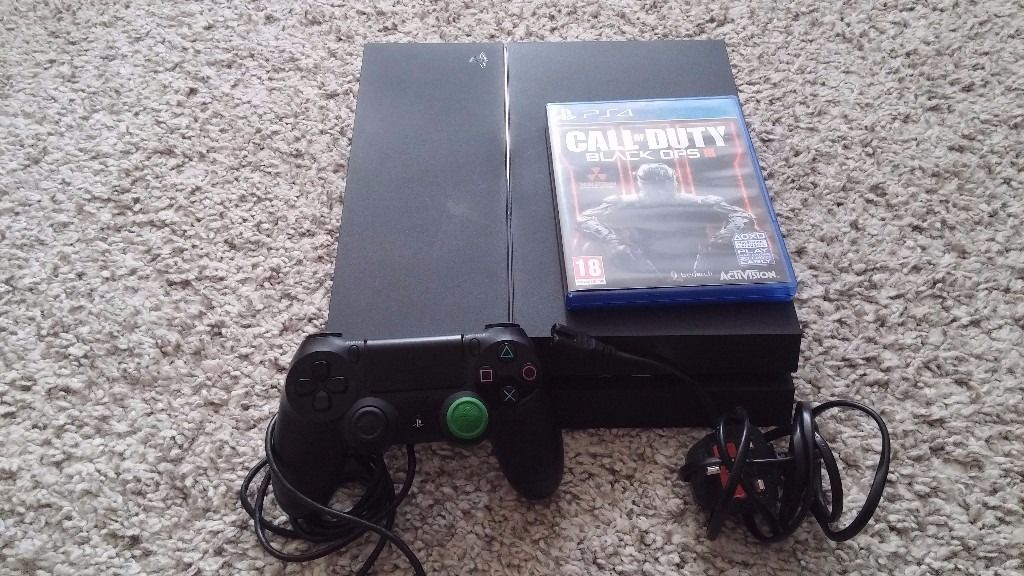 Newest Model 500Gb PS4 Console + Black Ops 3 Disc + 1 Kontrol Freek + Original Packaging & Contents