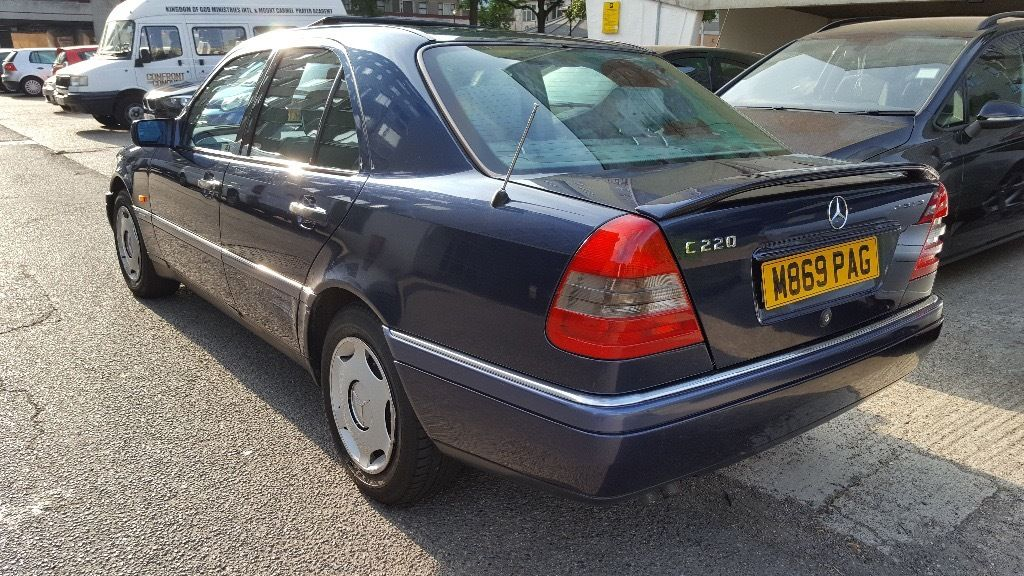 Mercedes C220 Elegance Automatic Just 1-Owner From New